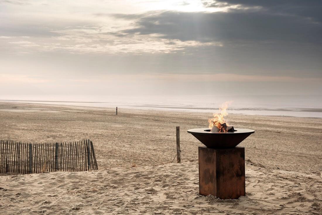 OFYR desgin BBQ at the beach