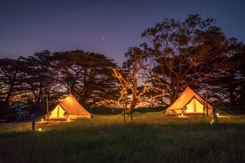 Glamping Victoria A Night In Our Own Bell Tent On